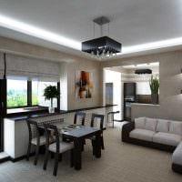 вариант красивого интерьера квартиры фото пример