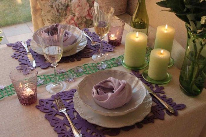 Как сделать уютный романтический ужин своими руками 24