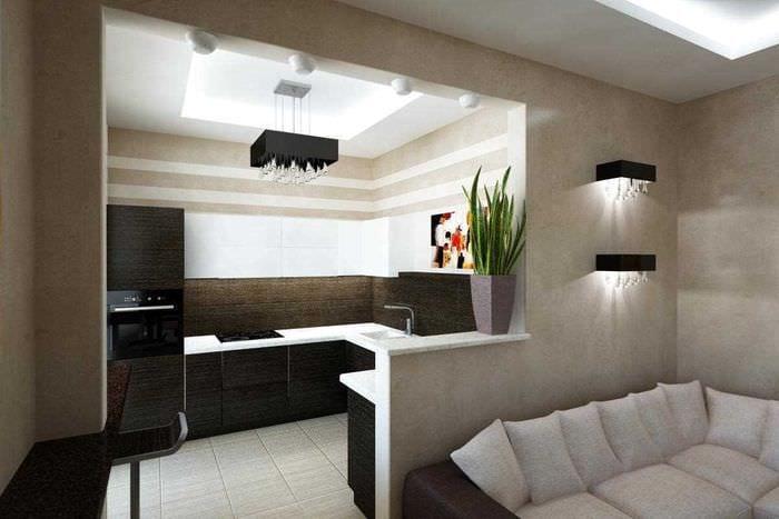 Интерьер квартир 2-х комнатных хрущевок фото дизайн