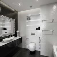 идея красивого дизайна ванной в квартире фото