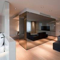 идея красивого оформления стен в гостиной картинка