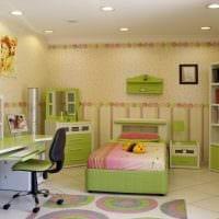 вариант красивого интерьера детской комнаты картинка
