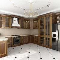 идея красивого декора квартиры в стиле современная классика фото