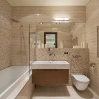идея необычного дизайна ванной 6 кв.м картинка