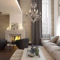 вариант современного интерьера квартиры со вторым светом картинка