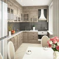 идея светлого стиля современной квартиры 70 кв.м фото