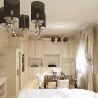 вариант яркого дизайна квартиры в стиле современная классика фото