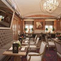 идея необычного стиля ресторана в стиле лофт фото
