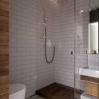 вариант необычного стиля ванной 3 кв.м фото