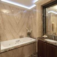 идея необычного дизайна ванной 6 кв.м фото