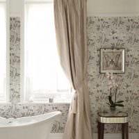 идея современного интерьера ванной комнаты 6 кв.м фото