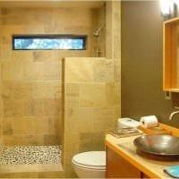 идея яркого стиля ванной комнаты 3 кв.м картинка