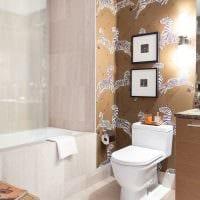 вариант яркого стиля ванной 6 кв.м картинка