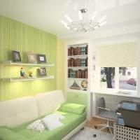 вариант яркого декора детской комнаты картинка