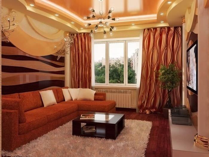 идея необычного стиля гостинки