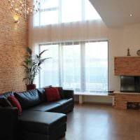 вариант красивого дизайна квартиры со вторым светом фото