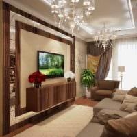 идея необычного декора комнаты в стиле современная классика фото