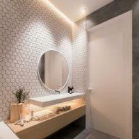 идея красивого стиля ванной 2017 фото