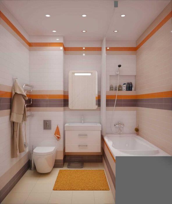 Совмещенные ванна и туалет дизайн в квартире