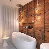 вариант необычного интерьера ванной комнаты 6 кв.м фото