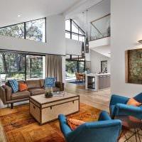 вариант современного интерьера квартиры со вторым светом фото