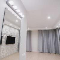 идея красивого дизайна современной квартиры 70 кв.м фото