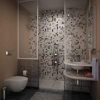 идея необычного интерьера ванной 2017 фото