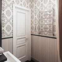 вариант необычного интерьера ванной в классическом стиле фото