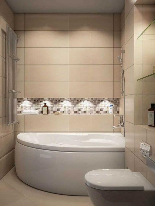 идея необычного стиля ванной 2017