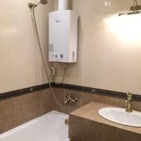 идея необычного стиля ванной комнаты 4 кв.м картинка
