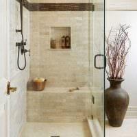 идея красивого дизайна ванной комнаты 4 кв.м фото