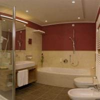 идея красивого стиля ванной 6 кв.м фото