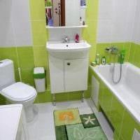 вариант необычного стиля ванной комнаты 3 кв.м картинка