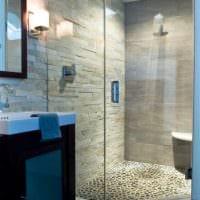 вариант красивого дизайна ванной комнаты 3 кв.м фото