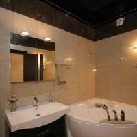 вариант необычного дизайна ванной комнаты 6 кв.м картинка