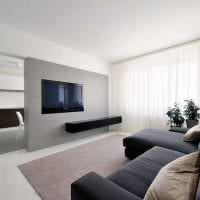 вариант яркого дизайна квартиры 70 кв.м фото
