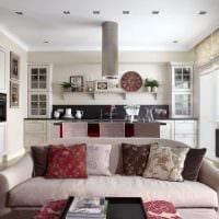 идея красивого декора квартиры в светлых тонах в современном стиле картинка