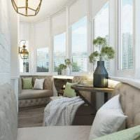 вариант светлого дизайна комнаты в светлых тонах в современном стиле фото