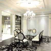 вариант яркого стиля комнаты в стиле современная классика картинка