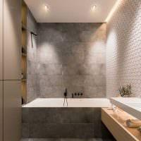 идея яркого дизайна ванной комнаты 2017 картинка