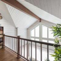 идея красивого интерьера дома со вторым светом фото