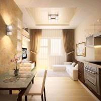 вариант необычного интерьера современной квартиры 70 кв.м картинка