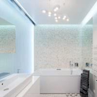 идея красивого интерьера большой ванной картинка