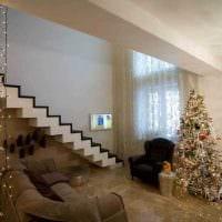 вариант современного стиля квартиры со вторым светом фото