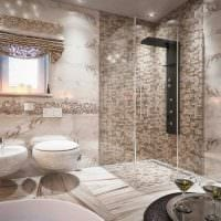 вариант необычного стиля ванной комнаты 2.5 кв.м картинка