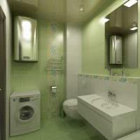 идея красивого дизайна ванной комнаты 2017 картинка
