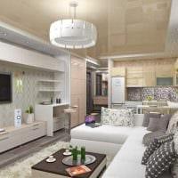 вариант яркого стиля гостиной комнаты 19-20 кв.м фото