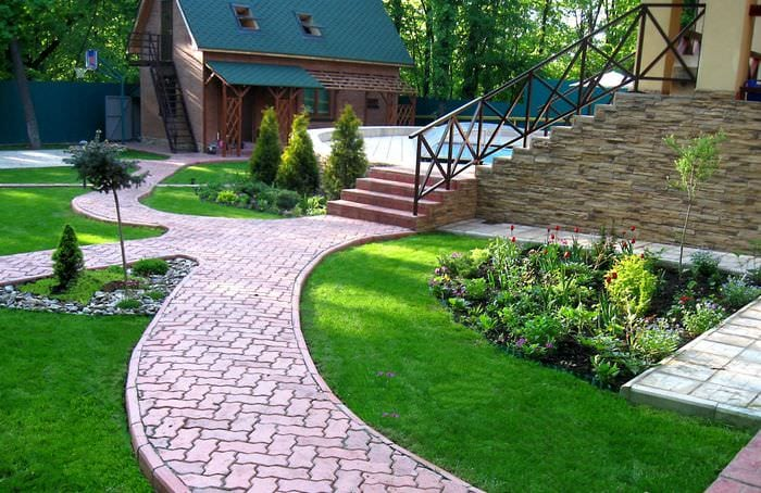 Садовый дизайн идеи фото