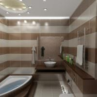 пример светлого дизайна ванной 5 кв.м картинка