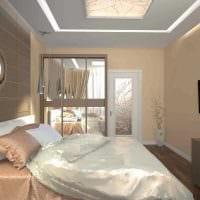 вариант светлого интерьера современной квартиры 65 кв.м фото